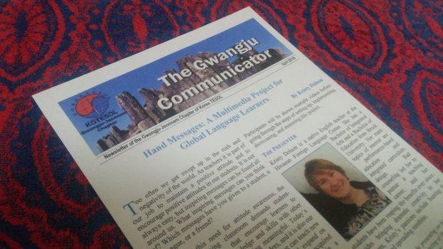 Gwangju Communicator - Gwangju-Jeonnam Chapter Newsletter