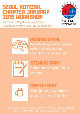Seoul Chapter 2019 January Workshop | KoreaTESOL