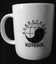 KOTESOL's white coffee mug