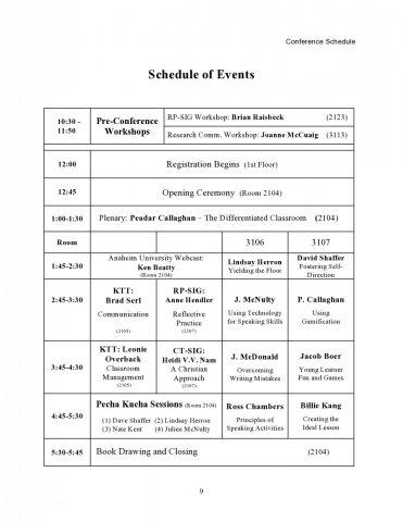 Gwangju Jeonnam Kotesol Spring Conference Koreatesol
